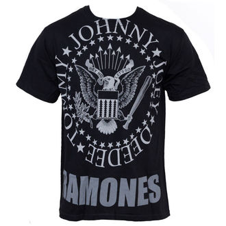tričko pánské Ramones - Hey Ho Lets Go - LIQUID BLUE - 31966