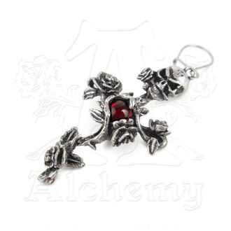náušnice Rose Thorn Cross - ALCHEMY GOTHIC