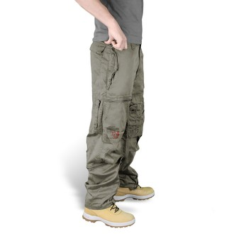 kalhoty SURPLUS - Infantry - OLIV