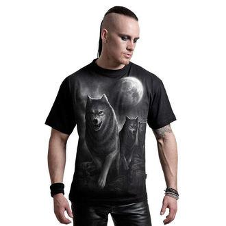 tričko pánské SPIRAL - Wolf Pack Wrap - D029M101