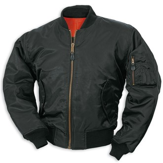 bunda SURPLUS - BOMBER MA1 - Black, SURPLUS