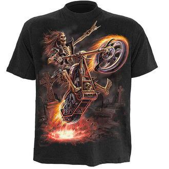 tričko dětské SPIRAL - Hell Rider - Black, SPIRAL