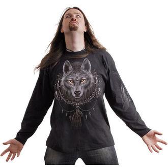tričko pánské s dlouhým rukávem SPIRAL - Wolf Dreams - T035M301