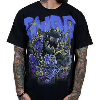 tričko pánské GWAR - Destroyers - Black w/ Purple - INDIEMERCH, INDIEMERCH, Gwar