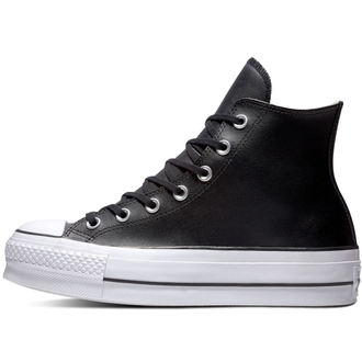 boty CONVERSE - Chuck Taylor All Star - Lift Black/Black/White, CONVERSE