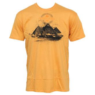 tričko pánské MACBETH - Pyramids - Mustard