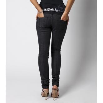 kalhoty dámské METAL MULISHA - Rider Denim - Black - M31709303