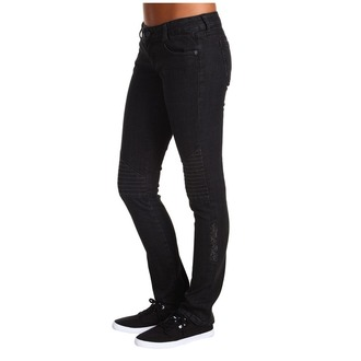 kalhoty dámské METAL MULISHA - Rider Denim - Black, METAL MULISHA