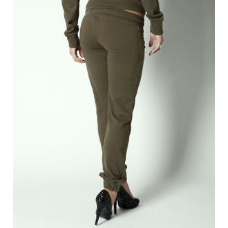kalhoty (tepláky) dámské METAL MULISHA - Recon - Military Green, METAL MULISHA