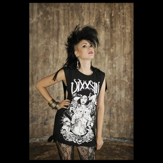 tričko dámské tunika VIXXSIN - Bride X - Black