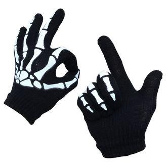 rukavice POIZEN INDUSTRIES - BGG - Blk/Wht - POI674