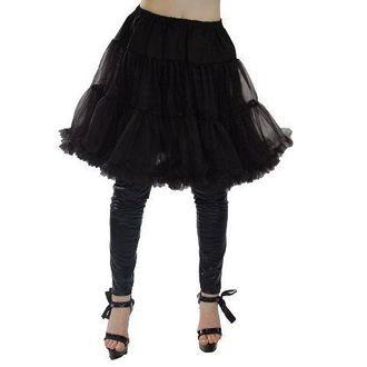sukně POIZEN INDUSTRIES - Midi Peticott - Blk - POI170