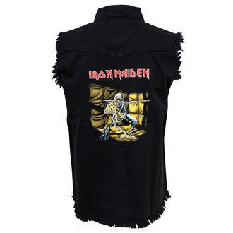 košile pánská bez rukávů (vesta) Iron Maiden - Piece Of Mind WS024 - RAZAMATAZ