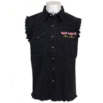 košile pánská bez rukávů (vesta) Iron Maiden - Piece Of Mind WS024, RAZAMATAZ, Iron Maiden