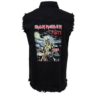 košile pánská bez rukávů (vesta) Iron Maiden - Killers - WS025, RAZAMATAZ, Iron Maiden