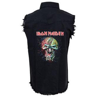 košile pánská bez rukávů (vesta) Iron Maiden - The Final Frontier Face WS032, RAZAMATAZ, Iron Maiden