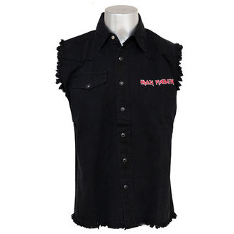 košile pánská bez rukávů (vesta) Iron Maiden - Iron Maiden - WS033, RAZAMATAZ, Iron Maiden