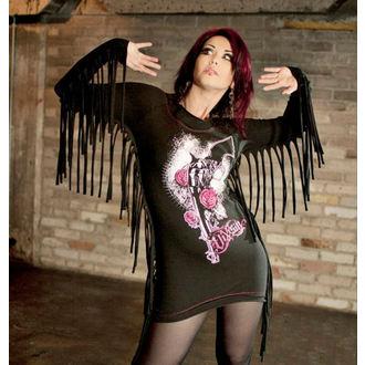 šaty dámské (top) VIXXSIN - Shooter - Black/Pink