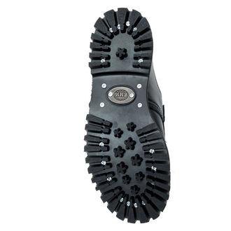 boty KMM 3dírkové - Black s přezkou