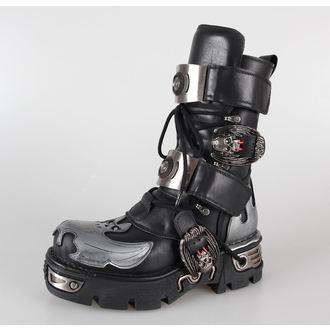 boty NEW ROCK - 195-S2 - Itali Negro