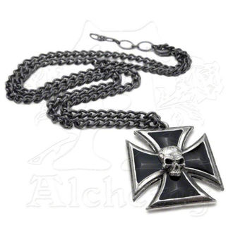 obojek Black Knight's Cross ALCHEMY GOTHIC