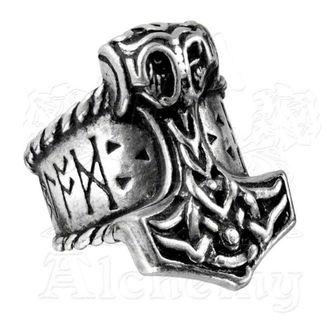 prsten Thor's Runehammer ALCHEMY GOTHIC