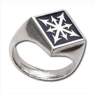 prsten Chaos Signet' ALCHEMY GOTHIC - R99