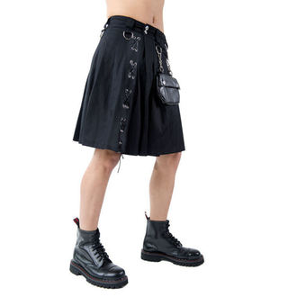 kilt pánský Aderlass - Eye Kilt Denim Black, ADERLASS