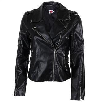 bunda dámská (křivák) Black Pistol - Biker Jacket Sky Black, BLACK PISTOL