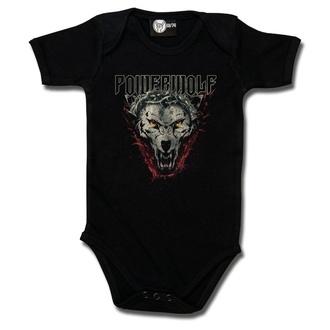 body dětské Powerwolf - (Icon Wolf) - black - Metal-Kids, Metal-Kids, Powerwolf