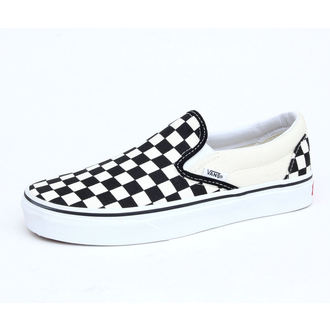 boty VANS - Classic Slip On - Black And White Checker - White - VN000EYEBWW1
