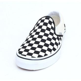boty VANS - Classic Slip On - Black And White Checker - White - VN000EYEBWW1