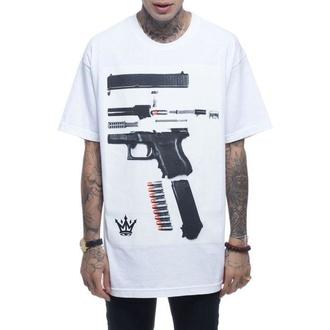 tričko pánské MAFIOSO - Dismantled - White - 54002-2