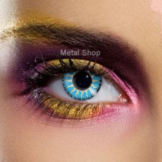 kontaktní čočka Blue Glamour - EDIT, EDIT