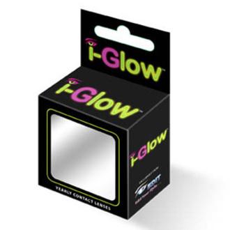 set kontaktní čočka Glow Yellow Cat UV a desinfekční sada - EDIT