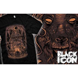 tričko pánské BLACK ICON - Baphomet, BLACK ICON