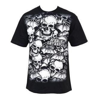 tričko pánské Avenged Sevenfold - A/O White Deathbats - BRAVADO