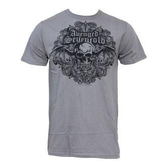 tričko pánské Avenged Sevenfold - Scrolled 30/1 - BRAVADO, BRAVADO, Avenged Sevenfold
