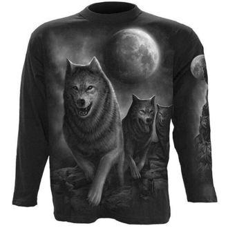 tričko pánské s dlouhým rukávem SPIRAL - Wolf Pack Wrap - D029M301
