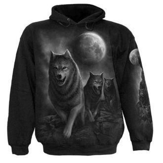 mikina pánská SPIRAL - Wolf Pack Wrap