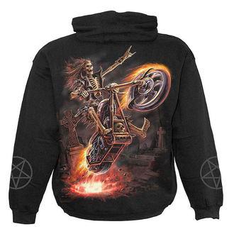 mikina dětská SPIRAL - Hell Rider - Black - T025K301