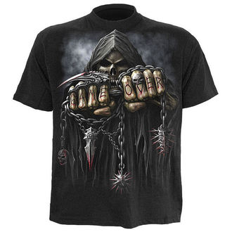 tričko dětské SPIRAL - Game Over - Black, SPIRAL