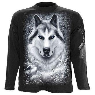 tričko pánské s dlouhým rukávem SPIRAL - White Wolf - T053M301