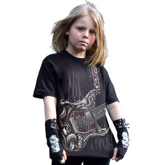tričko dětské SPIRAL - Air Guitar - T056K101