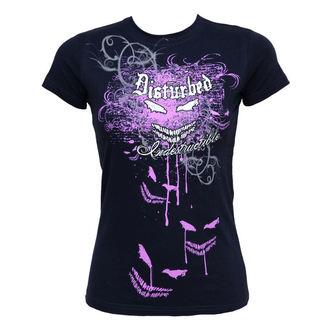 tričko dámské Disturbed - Indestructible Flourish - BRAVADO, BRAVADO, Disturbed
