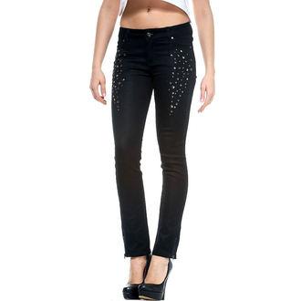 kalhoty dámské IRON FIST - Time To Shine - BLACK