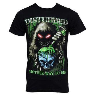 tričko pánské Disturbed - Toxic Globe - BRAVADO, BRAVADO, Disturbed