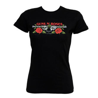 tričko dámské Guns N' Roses - Roses Pistols - BRAVADO, BRAVADO, Guns N' Roses