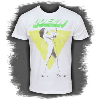 tričko pánské Queen - Freddy Sings - BRAVADO, BRAVADO, Queen