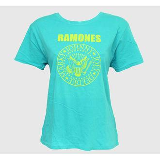 tričko dámské Ramones - Markys Seal - Tyrkysová - BRAVADO, BRAVADO, Ramones